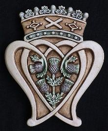Scottish Luckenbooth Emblem
