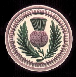 Scottish Thistle Butter Stamp