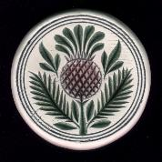 Thistle Butter Stamp