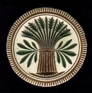 Sheaf of Wheat Butter Stamp